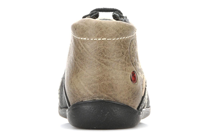 Bottines et boots GBB Babyboy 152 Noir vue droite