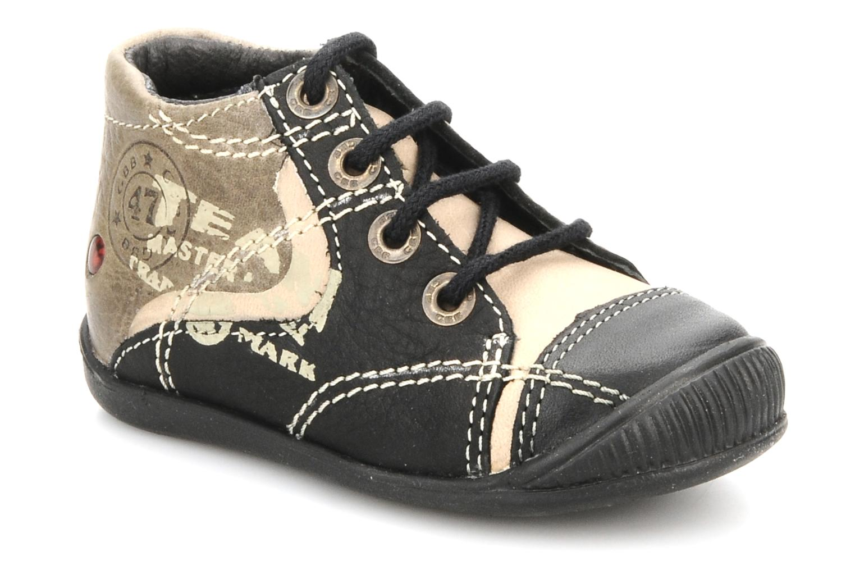 Bottines et boots GBB Babyboy 152 Noir vue détail/paire