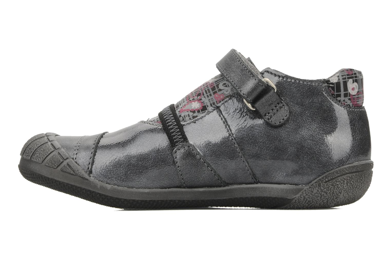 Chaussures à scratch GBB Kidgirl 201 Gris vue face