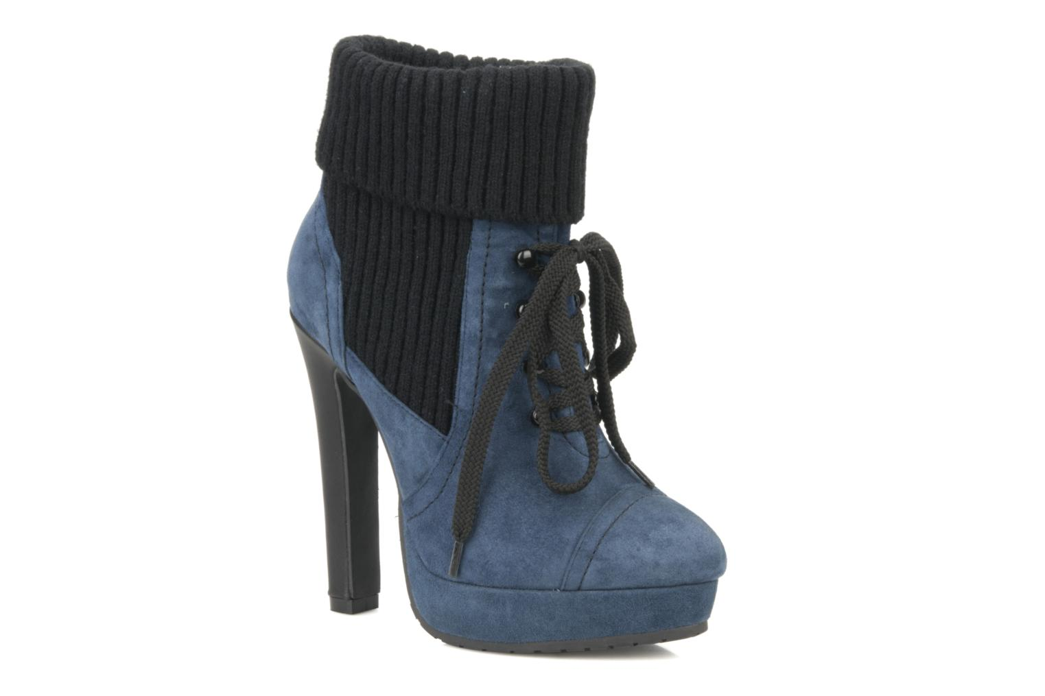 Ankle boots French Connection Javier Blue detailed view/ Pair view