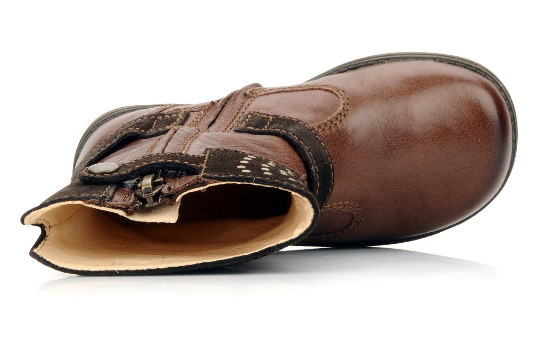 Stiefel Primigi Clarice braun ansicht von links