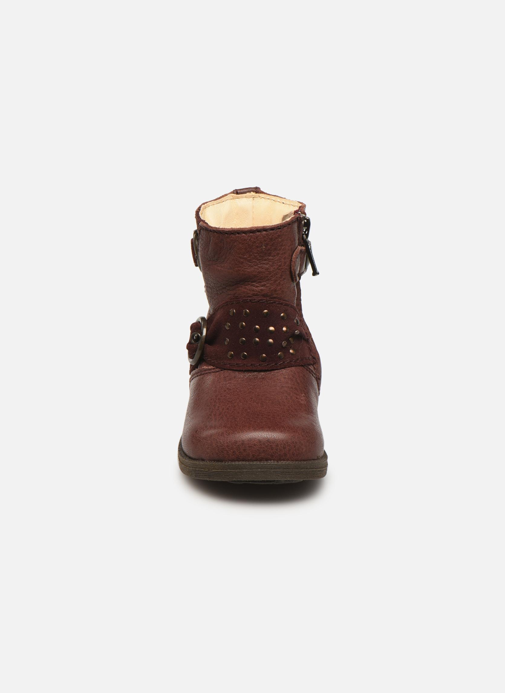 Bottines et boots Primigi Corinna Bordeaux vue portées chaussures