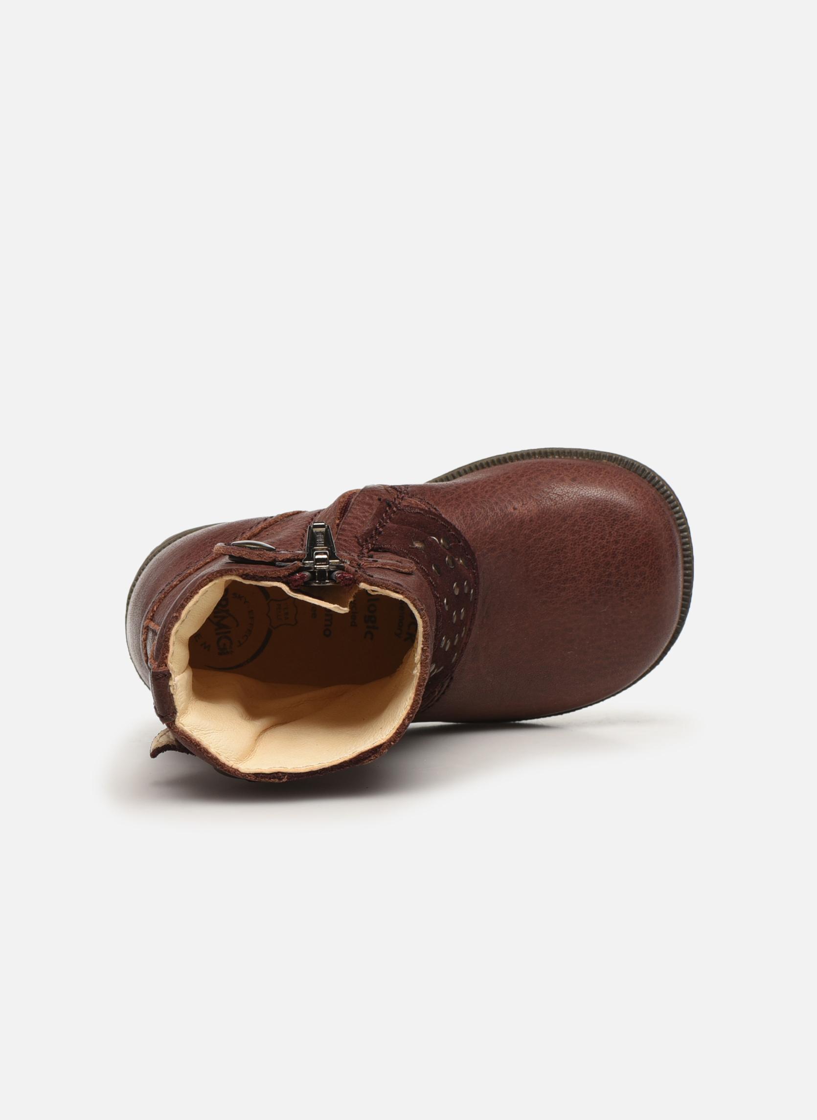 Bottines et boots Primigi Corinna Bordeaux vue gauche