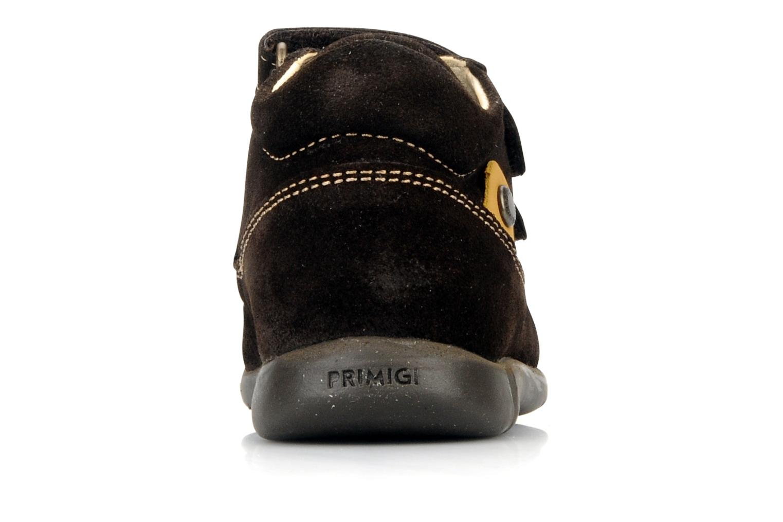 Chaussures à scratch Primigi Rusty Marron vue droite