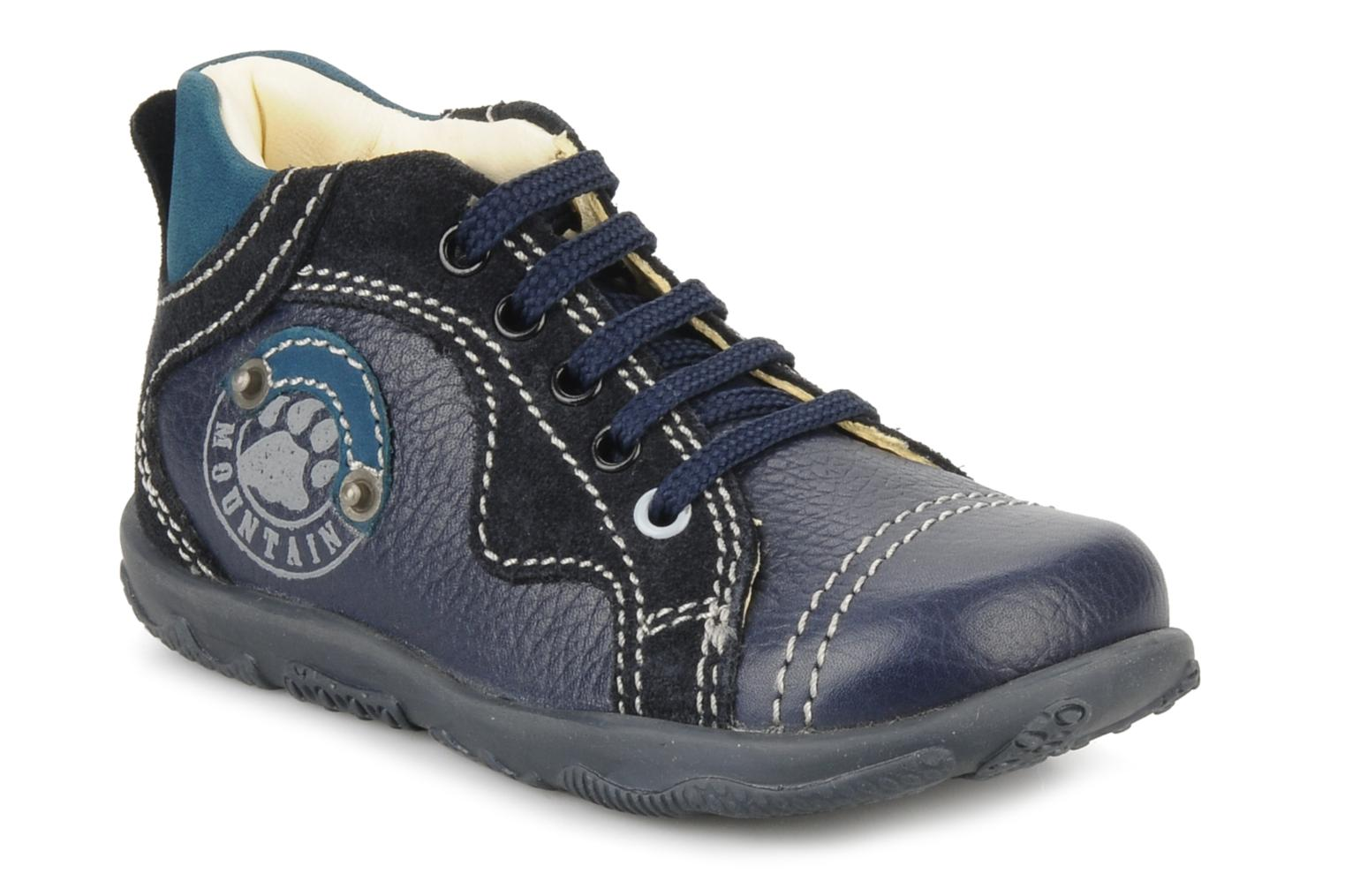 Ankle boots Primigi Daemon Blue detailed view/ Pair view