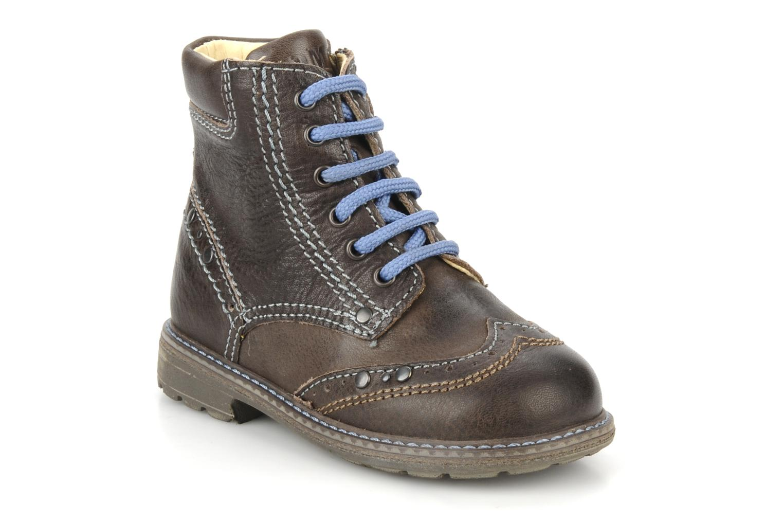 Ankle boots Primigi Lanfranco Brown detailed view/ Pair view