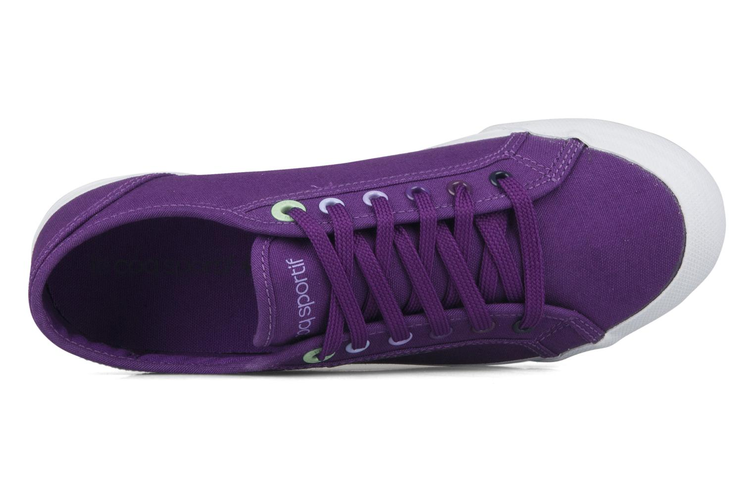 Sneakers Le Coq Sportif Deauville plus shaded Viola immagine sinistra