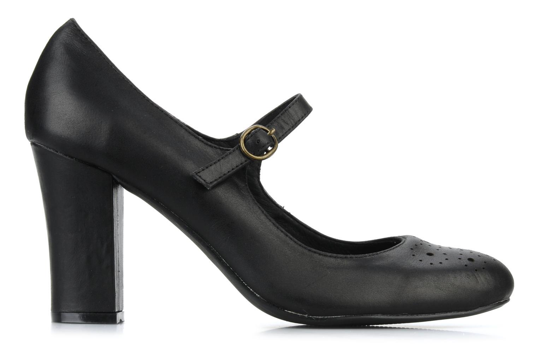 High heels Georgia Rose Yara Black back view