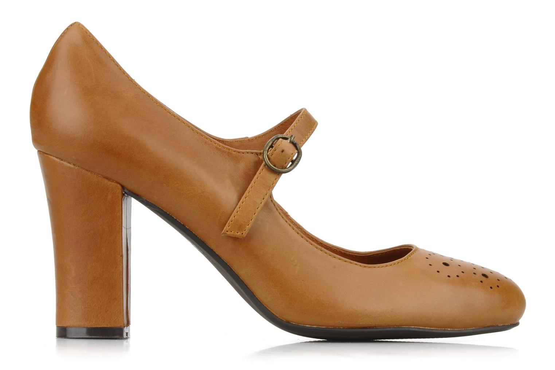 High heels Georgia Rose Yara Brown back view