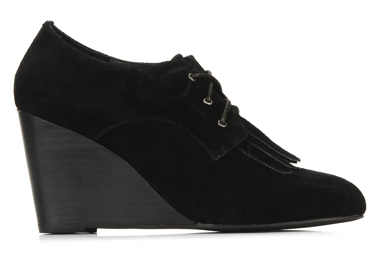 Chaussures à lacets Georgia Rose Azalea Noir vue derrière