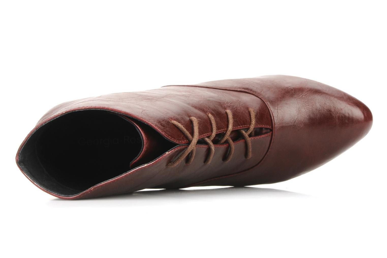 Bottines et boots Georgia Rose Nara Bordeaux vue gauche