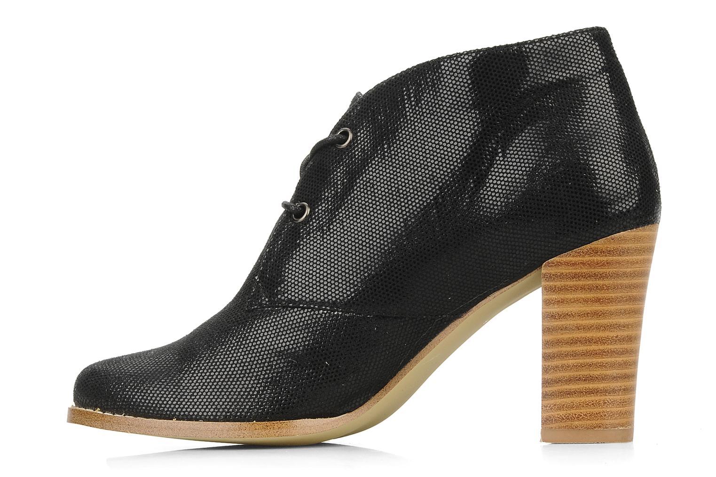 Zapatos con cordones Georgia Rose Itsaso Negro vista de frente