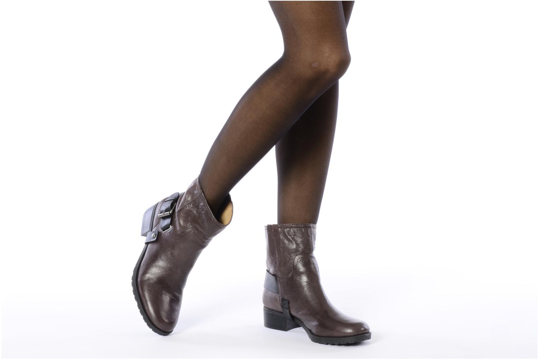 Bottines et boots Nine West Watery Marron vue bas / vue portée sac