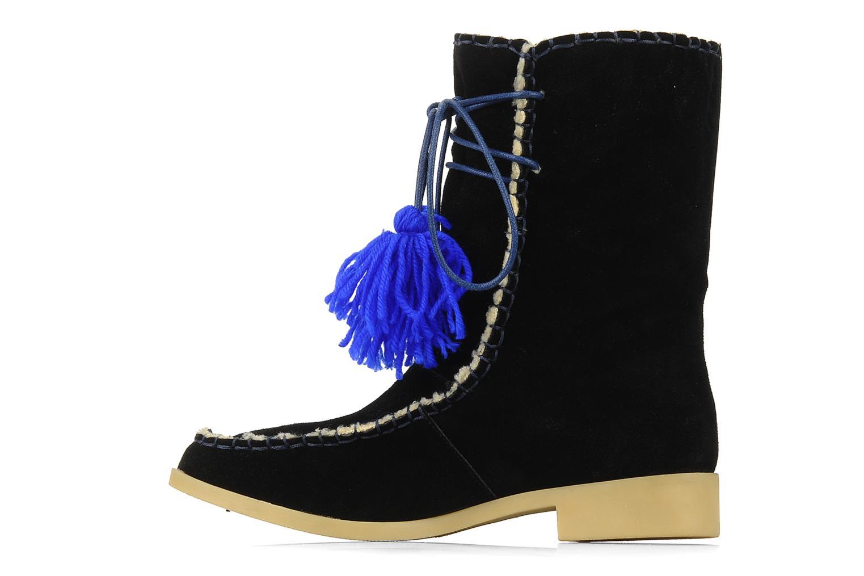 Boots en enkellaarsjes Mellow Yellow Kinuit Zwart voorkant