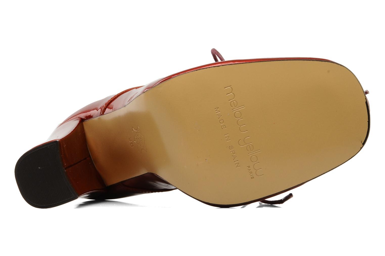 Chaussures à lacets Mellow Yellow Klipo Rouge vue haut