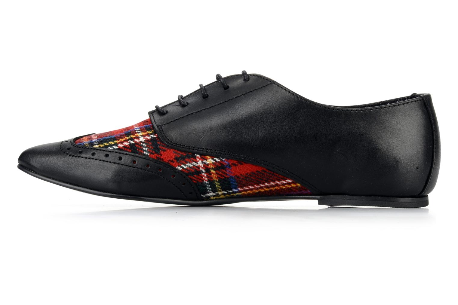 Lace-up shoes Underground Penny Black front view