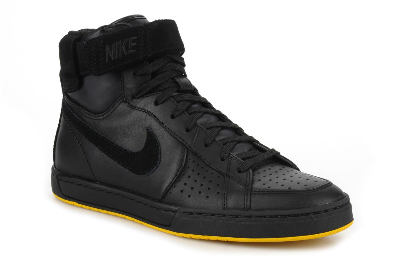 Sneaker Nike Flytop velcro schwarz detaillierte ansicht/modell