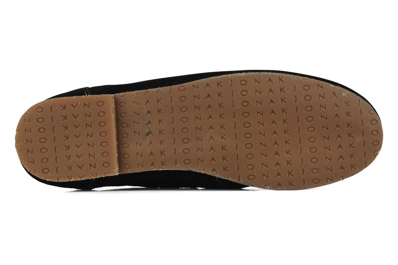Sandales et nu-pieds Jonak Charlotte Noir vue haut