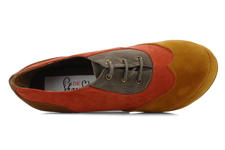 Scarpe con lacci I Love Shoes Jeri Multicolore immagine sinistra