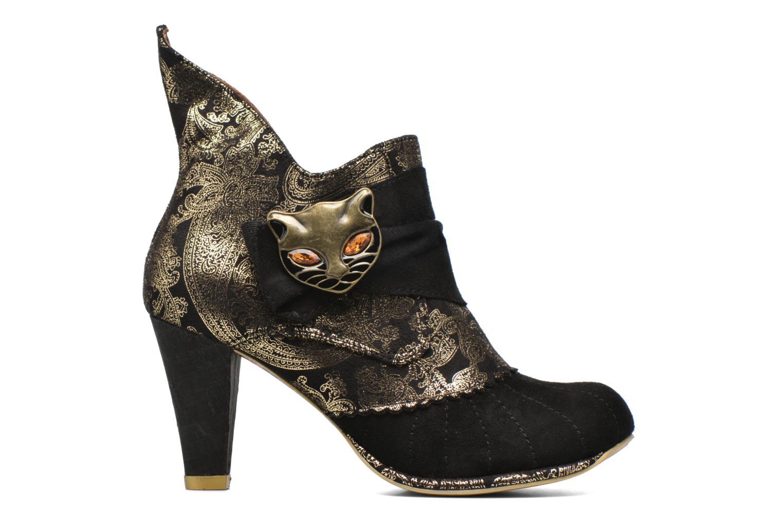 Boots en enkellaarsjes Irregular Choice Miaow Zwart achterkant