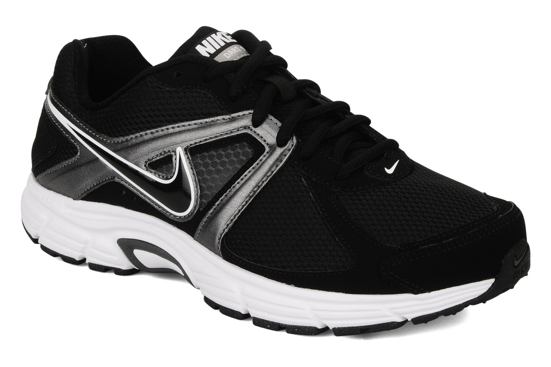 Sport shoes Nike Dart 9 Black detailed view/ Pair view