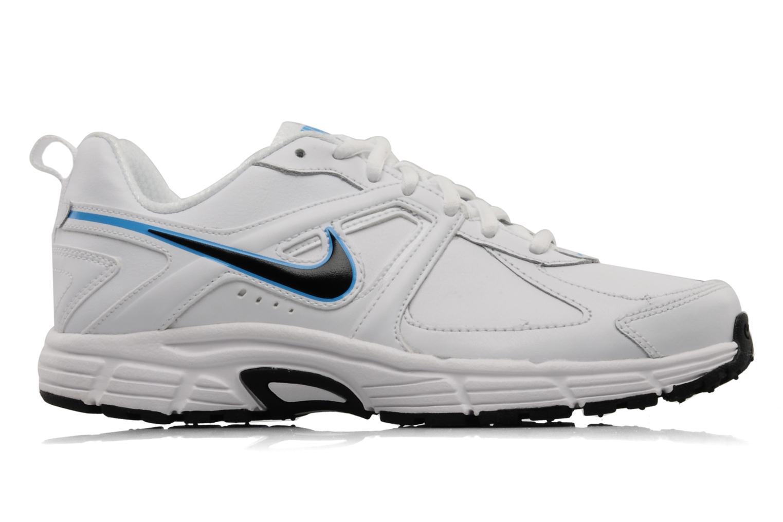 Sportschoenen Nike Dart 9 lea bgp Wit achterkant