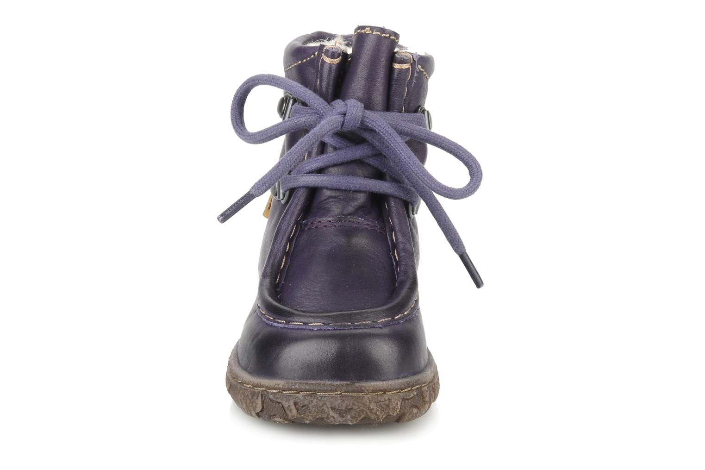 Bottines et boots Bisgaard Loona Violet vue portées chaussures