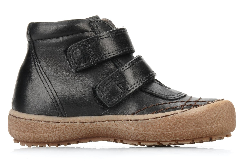 Chaussures à scratch Bisgaard Gapaos Noir vue derrière