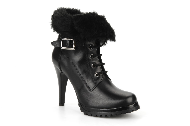 Bottines et boots Eden Micho Noir vue détail/paire