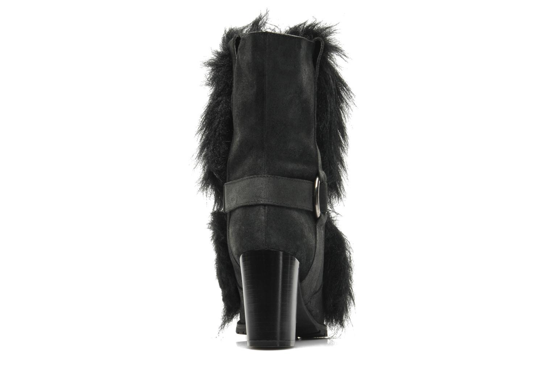 Bottines et boots Eden Zon Noir vue droite