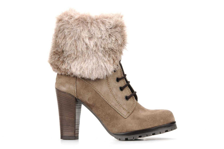 Bottines et boots Eden Cincilla Beige vue derrière