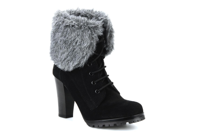 Bottines et boots Eden Cincilla Noir vue détail/paire
