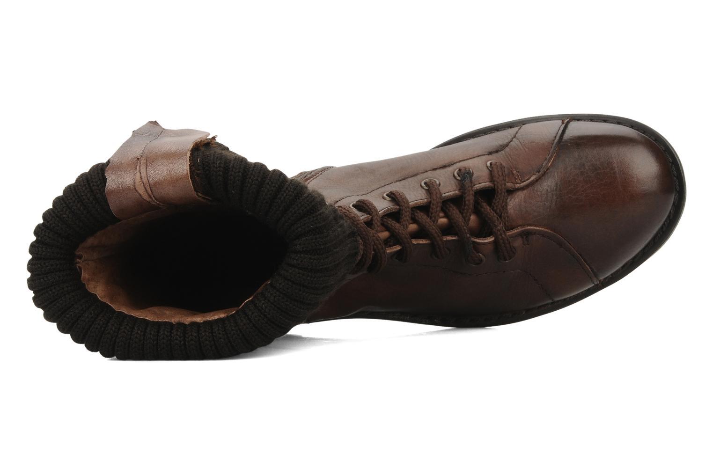 Boots en enkellaarsjes Eden Nems Bruin links