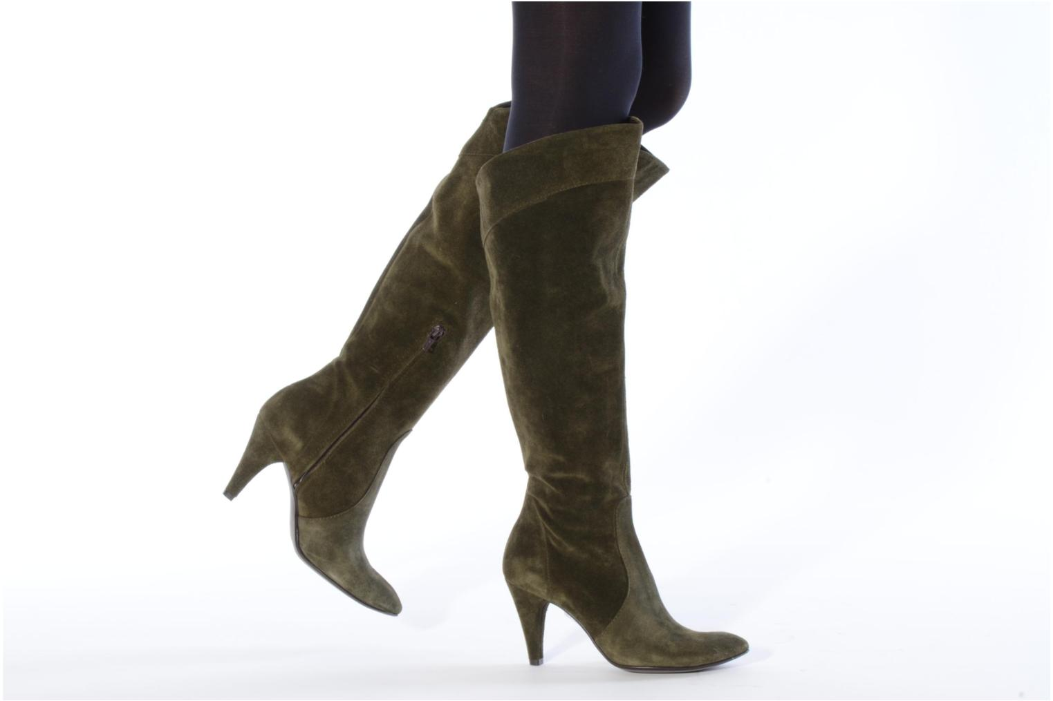Boots & wellies Eden Enflip Green view from underneath / model view