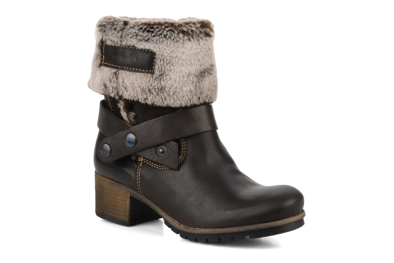 Bottines et boots Tamaris Oprah Marron vue détail/paire