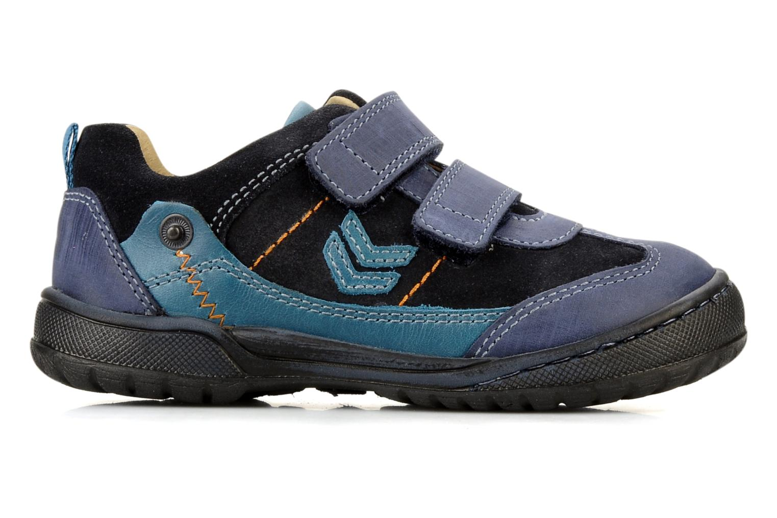 Velcro shoes Start Rite Trail Blue back view
