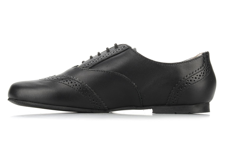Chaussures à lacets Start Rite Fran Noir vue face
