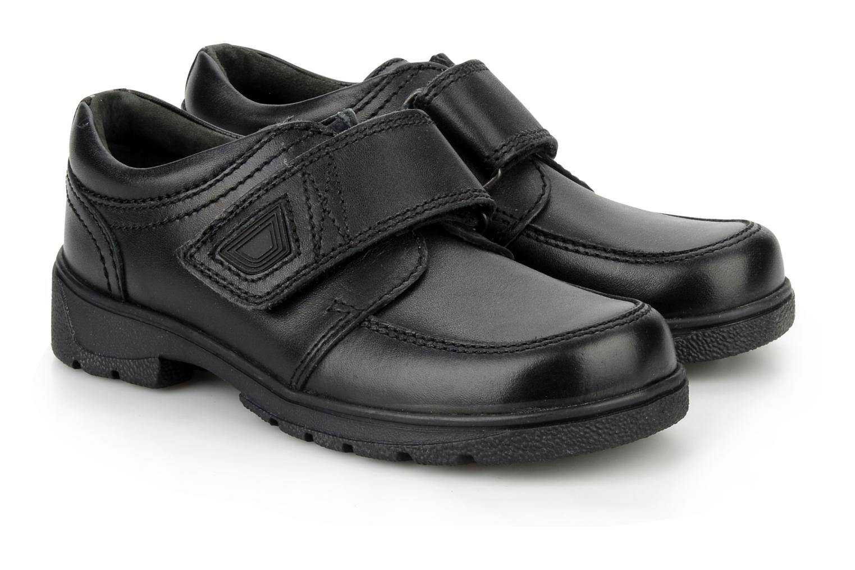 Chaussures à scratch Start Rite Accelerate Noir vue 3/4