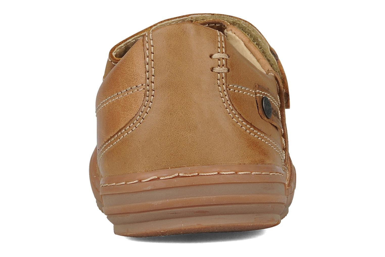 Chaussures à lacets Kickers Jimpy Marron vue droite