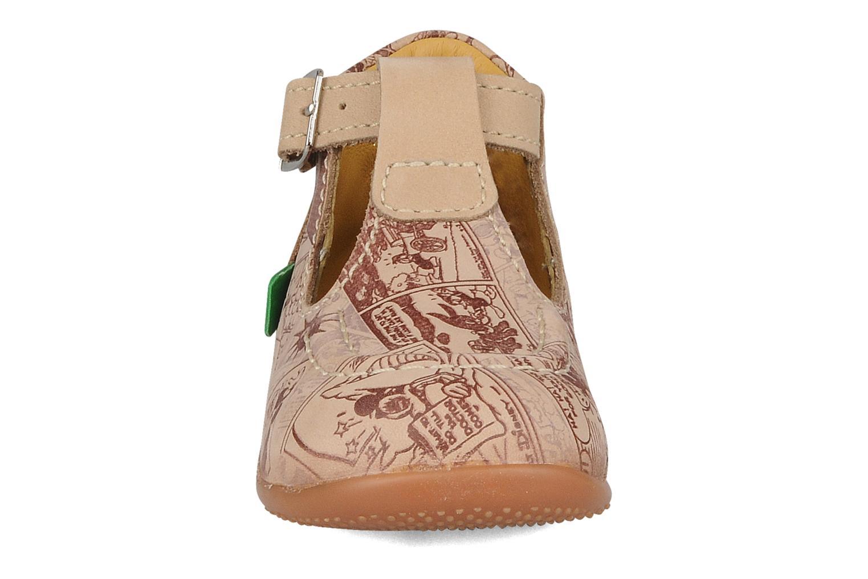 Bottines et boots Kickers Bonbek mickey Beige vue portées chaussures