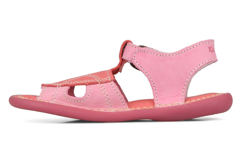 Sandales et nu-pieds Kickers Mitsy Rose vue face