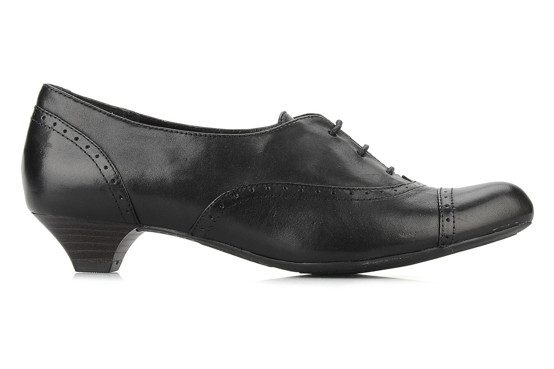 Chaussures à lacets Clarks Colour wheel Noir vue derrière