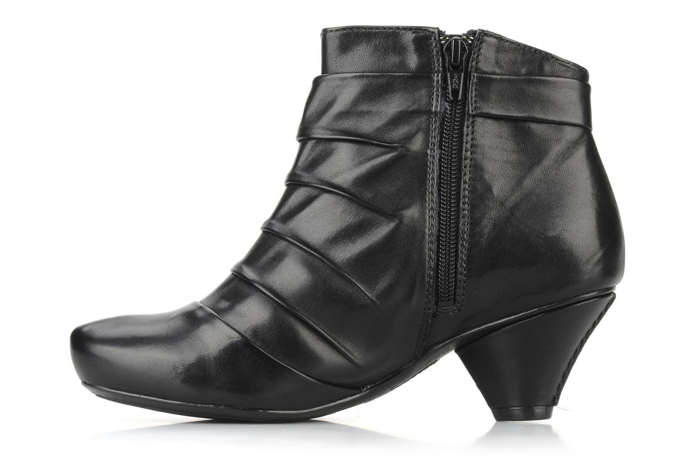 Boots en enkellaarsjes Clarks Krista azure Zwart voorkant