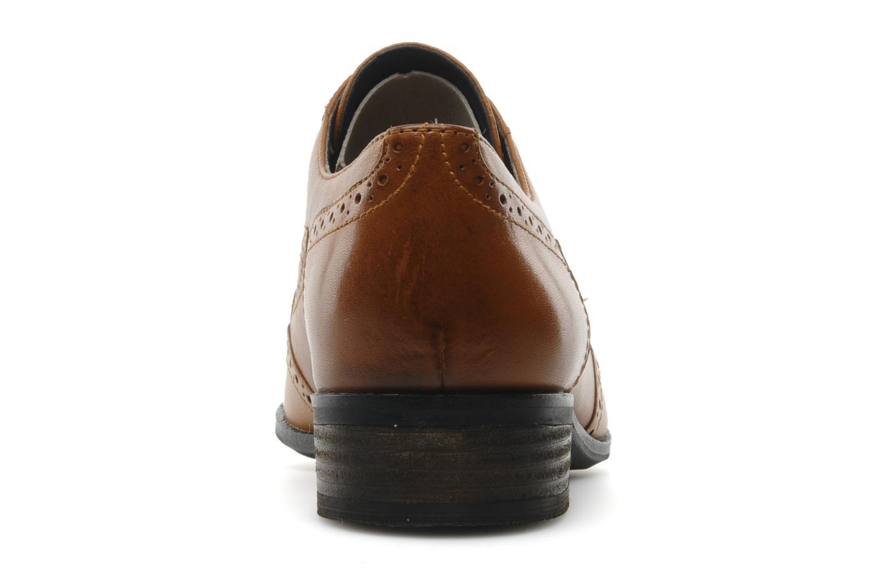 Zapatos con cordones Clarks Hamble Oak Marrón vista lateral derecha
