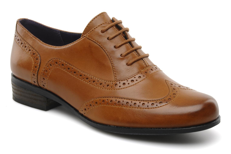 Schnürschuhe Clarks Hamble Oak braun detaillierte ansicht/modell