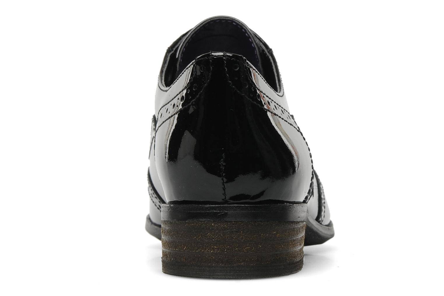 Lace-up shoes Clarks Hamble oak Black view from the right