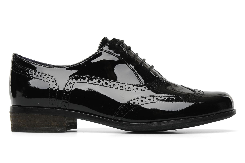 Lace-up shoes Clarks Hamble oak Black back view