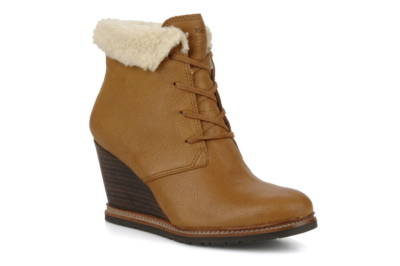 Boots en enkellaarsjes Marc O'Polo Julietta Bruin detail