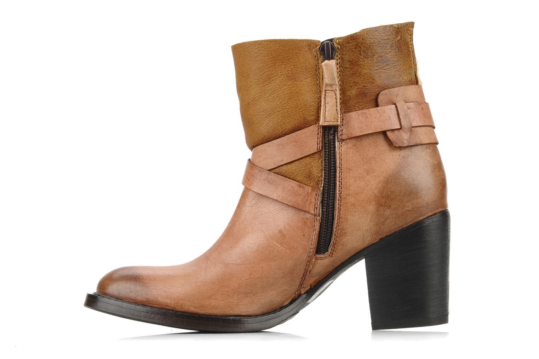 Bottines et boots Elizabeth Stuart Luz 682 Beige vue face