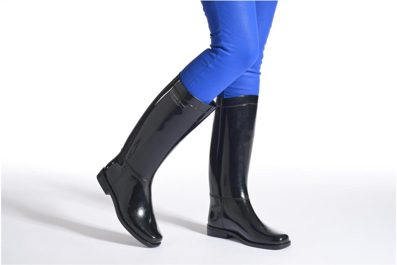 Boots & wellies Elizabeth Stuart Glasgow Black view from underneath / model view